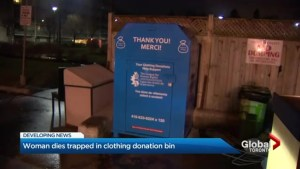 Donation bin death at Bloor and Dovercourt