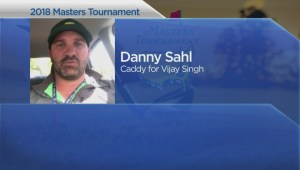 Edmonton caddy talks about impact elevation has on walking the grounds at Augusta
