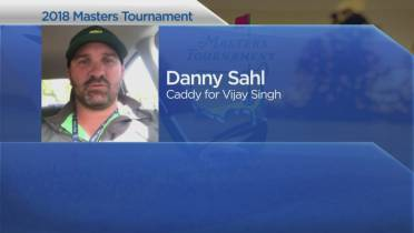 Edmontonian speaks about caddying at The Masters golf tournament at