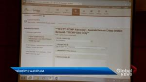 Saskatchewan RCMP crime watch alert system expanded province-wide