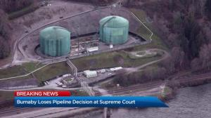 Supreme Court rejects Burnaby's Trans Mountain pipeline challenge