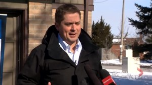 Andrew Scheer says Conservatives will drop GST on home heating bills