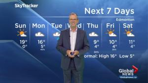 Edmonton Weather Forecast: Sept.16