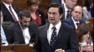 Conservative's Poilievre questions Liberals on impact of carbon taxes on lower income families