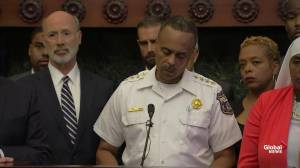 Philadelphia police commissioner calls stand-off 'absolutely unnerving'