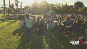 Shakespeare in Brossard's park