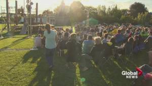 Shakespeare in Brossard's park