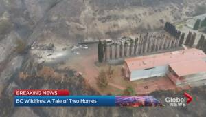B.C. wildfires: A tale of two neighbours