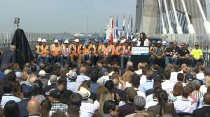 New Samuel de Champlain Bridge inaugurated in style