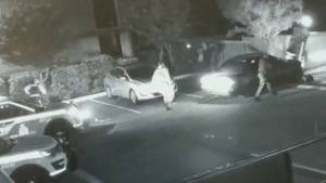 Caught on video: suspicious vehicles cause damage fleeing from Surrey police