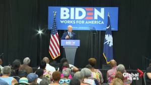 Joe Biden apologizes for comments on segregationist lawmakers