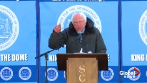Bernie Sanders calls Trump a racist during MLK speech