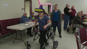 Shriners host Christmas party for Manitoba patients
