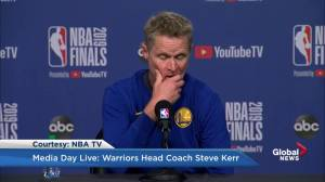Steve Kerr: The hottest crowds in the NBA are Golden State and Toronto