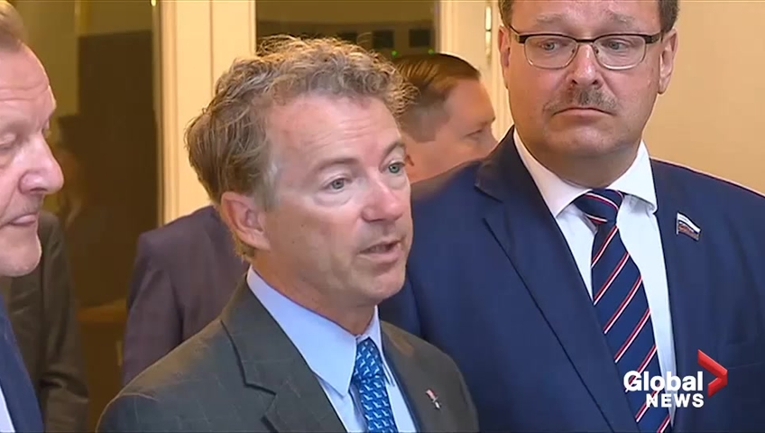 Rand Paul, in Moscow, invites Russian lawmakers to Washington
