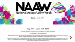 National AccessAbility Week Launch