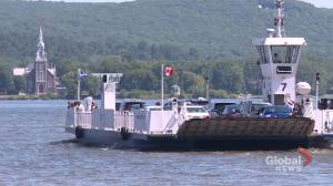 Rising riverbed is dredging up concerns for Oka ferry operators