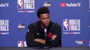 NBA Finals: Lowry says he's not an icon, talks about what he's trying to show kids (01:22)