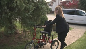 Happy ending to story of stolen special needs bike