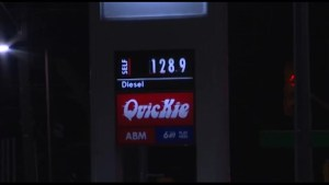 Gas prices rise in Kingston