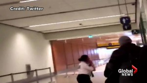 Police say 'no threat' after security lockdown at YYC Calgary International Airport