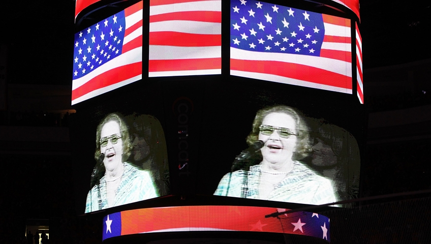 Flyers Remove Kate Smith Statue Outside Arena, Won't Play Version of 'God Bless America'