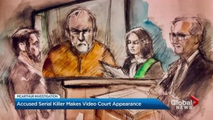 Alleged serial killer Bruce McArthur makes brief court appearance