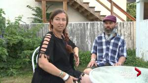 Couple describe mayhem after being struck by ATV at B.C. music festival (01:44)