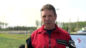 Slave Lake fire chief helping battle wildfire in High Level