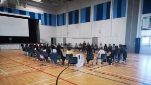Regina high school students attend anti-racism workshop