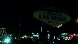 Las Vegas landmarks go dark during vigil for victims 1 week after shooting
