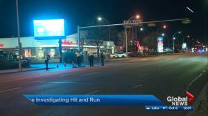 Edmonton police search for driver in hit-and-run
