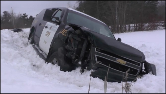OPP cruisers collide in City of Kawartha Lakes