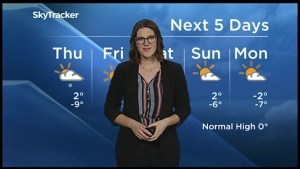 Chance of flurries Thursday, cold on Friday