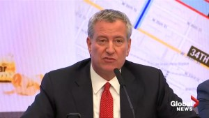 Bill De Blasio: 'No specific threat' ahead of New Year's Eve celebrations in Times Square