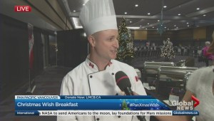 Pan Pacific Christmas Wish Breakfast: Behind the Scenes