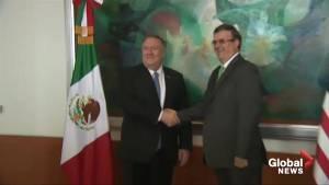 Mexico says Pompeo recognizes migration progress