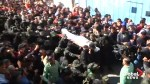 Gaza City funeral for Palestinian killed in fighting with IDF