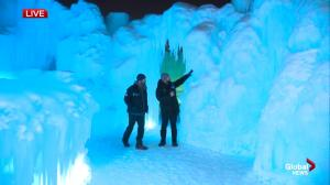 Edmonton's Ice Castles lead artist explains how it comes together