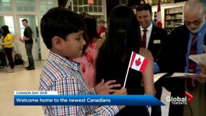 Becoming a Canadian citizen is no easy task