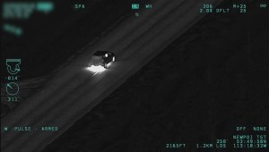 Edmonton police release dramatic video of suspect vehicle after violent crime spree
