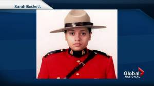 B.C. RCMP officer died after cruiser rammed by truck
