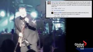 Meat Loaf's official Facebook page responds to social media comments after singer's collapse