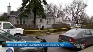 Toronto homicide detectives investigating death of elderly man