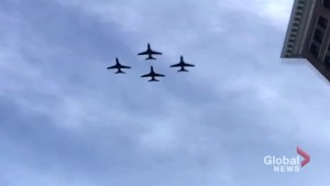RCAC Flyby to signal puck drop of Winnipeg Jets playoffs