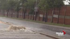 Massive downpour causes extensive flooding in Calgary