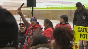 Sisters in Spirit Vigil brings hundred together in honor of missing and murdered Indigenous women