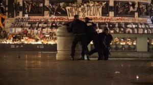 Heavily armed police on alert after false alarm creates panic in Paris