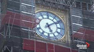 U.K. parliament's 'Big Ben' bell marks 160 years with silence amid restoration work