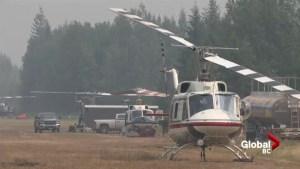 Fire crews making progress near Clearwater